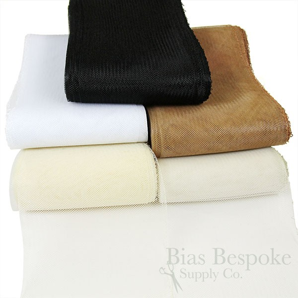 White 4 Wide 25 Yards of Hard Horsehair Braid No Gathering Thread