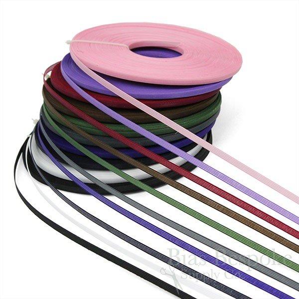 1//4, Black 1 Roll Rigilene Poly Polyester Boning