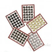 Sew On Metal Snaps, Size 3/0 (7mm)