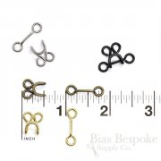 "Medium (1/2"" Long) ""Tutu"" Hooks and Bars, KO Brand"