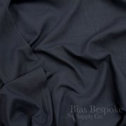 "Navy Blue Poly/Cotton Pocketing Fabric, 58"" Wide"