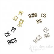 "1/2"" Long ""Tutu"" Hooks and Eyes, Yen Brand"