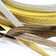 "PAX 1/2"" Geometric Bullion Braid Trim in Four Colors"
