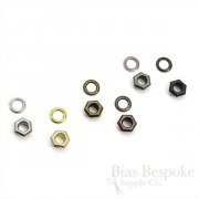 SOL Hexagon, Size #00 Grommets, For Bevy Pliers