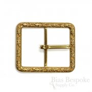 GEMMA Golden Belt Buckle, Made in France