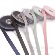 20 Meters of Two-Tone Twill Tape in Five Colorways, Made in Italy