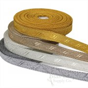 "FLORENCE 3/4"" Wide Military-Style Bullion Braid Trim"