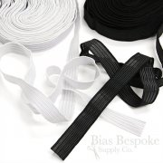 "3/4"" Wide Semi-Sheer Elastic, Made in Poland"