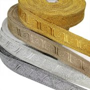 "FLORENCE 1 1/4"" Wide Military-Style Bullion Braid Trim"