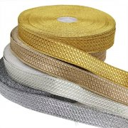 "MORROW 1"" Geometric Bullion Braid Trim"