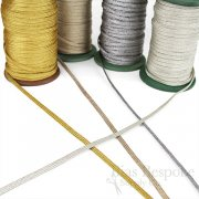 PIPER 5mm Metallic Flat Cord (for Loops and Curves)