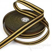 BAILEY 23mm Black and Gold Military-Style Trim