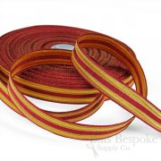BAILEY 20mm Red and Gold Military-Style Trim