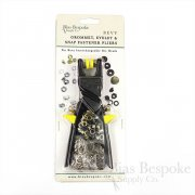 BEVY Interchangeable Pliers for Grommets, Eyelets and Snap Fasteners