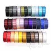 LUCIA 25mm Double Faced Satin Ribbon, Made in Italy
