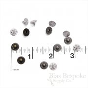 Set of 144 Classic Many-Star Rivets for Jeans