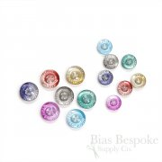 Color Gradient MADE IN ITALY Shirt Buttons, 18 Line