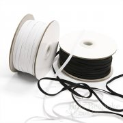 "1/4"" Knitted Elastic, 50 Yard Roll"