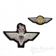 Bullion Wire Embroidered Badge: Parachute Regiment Wings