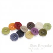 Simple and Modern Corozo Shirt Buttons, Made in Italy