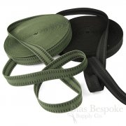 30mm Sporty Woven Elastic with Gripping Rubber