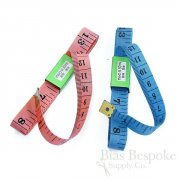 "Narrow 60"" Pink and Blue Measuring Tapes"
