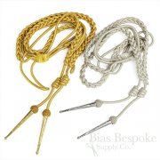 KENDRICK Mylar Braided Aiguillette with Mesh & Metal Tips