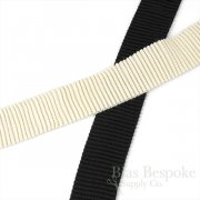 "2"" Wide Cartridge Pleated Ribbed Elastic, Made in Italy"