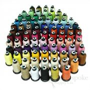 ELVIS 120D/2 Luminous Embroidery Thread, Bias Bespoke Brand