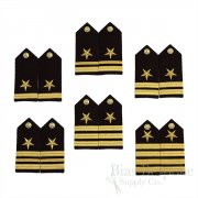 United States Navy Line Officer's Hard Shoulder Boards