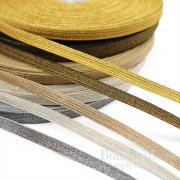 "NORTH 5/16"" Wide Double Stripe Military Bullion Braid Trim"