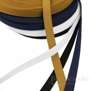 "HARLEY Ribbed Non-Roll 1"" Waistband Elastic in 4 Colors"