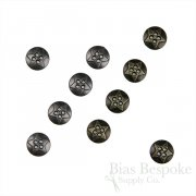 Metal Star Shirt Buttons in Two Colors, 16 Line