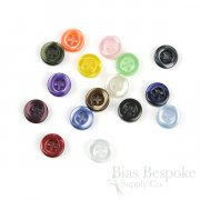 RAMELIN Luminescent Shirt Buttons, 14 Line
