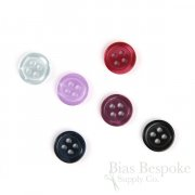 BRENNO Luminescent Shirt Buttons, 18 Line