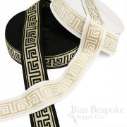 "GREEK 2"" Wide Luxurious Waistband Elastic"