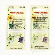 Mary Arden Bead Embroidery Hand-Sewing Needles