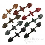 "7"" Genuine Leather Toggle Closures, Made in Italy"