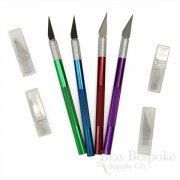 Colorful Craft Knife with 5 Extra Blades