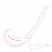Flexible & Transparent Metric French Curve Ruler