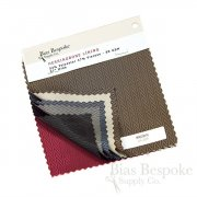 Sample Book: Herringbone Lining, Six Color Samples