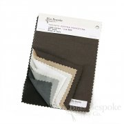 Sample Book: PODESTA Cotton Silesia Pocketing Fabric, 8 Color Samples