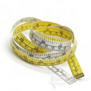 "Standard/Metric Tape Measure, 60"", Made in Germany"