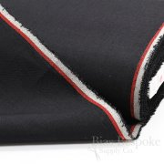 "ALDA Black 100% Italian Linen Premium Canvas, 27"" Wide"