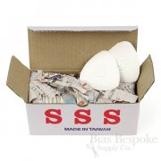 SSS Tailor's Clay Chalk, White and Colorful, 30 Chalks Per Box