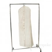 Box of 25 100% Unbleached Cotton Canvas Gusseted Garment Bags For Ballgowns