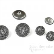 Ancient Roman (Reproduction) Imperial Metal Buttons, Made in France