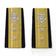 United States Coast Guard Admiral Enhanced Hard Shoulder Boards
