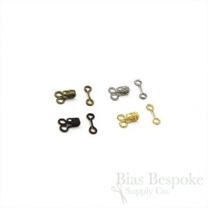 Bias Bespoke GLEN Size #1 Small Hooks & Bars in Four Colors