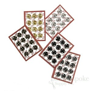 Sew On Metal Snaps, Size 0 (10mm)